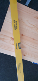 Just over 3ft.magnetic spirit level brand new 5 available £8each