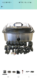 FoxHunter Professional 18 Quart Massage Stone Heater + Hot Stones