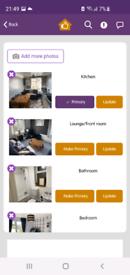 2 bedroom first floor flat Bingham