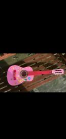 CB Sky Child's pink Guitar