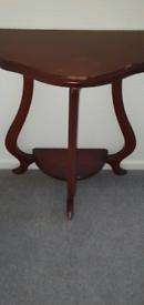 Mahogany telephone,hall table