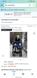 BNIB DOUBLE PRAM buggy stroller