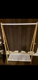 Ikea Clothing Rail