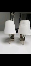 Lamps HABITAT and Laura Ashley
