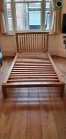 Habitat Seville Solid Oak Wood Single Bed Frame