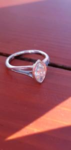 .90 Carat diamond solitaire with platinum ring