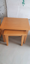 Morris furniture occasional tables - need to sell asap