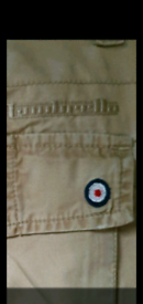 LAMBRETTER CARGO PANTS REDUCED from £25