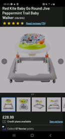 Baby walker brand new - used once!