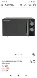 Russell hobbs RHM1721BC microwave