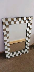 Large decorative mirror 60x90cm
