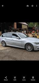 "19"" 5x120 staggered AVA CSL style BMW alloy wheels E46 E90 E91 E92"