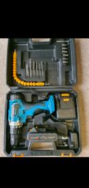Brand new cordless drill 18v