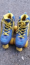 Rio Roller Skates UK Size 2 more stable than roller blades / skateboard