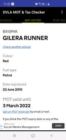 Gilera Runner SP 50cc