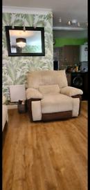 Harvey's Sycamore sofa set