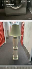 Lamp and pillar