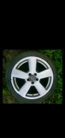 Audi A4 A3 S Line Alloy Wheels Not Rs3 Rs4 S3 S4 S5 S6.