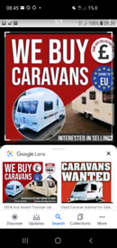 URGENTLY REQUIRED CARAVANS