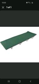 2x folding camp beds