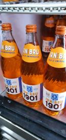 Irn Bru 1901 Case 12 Bottles 750ml Sealed Case End November 2020 Dated
