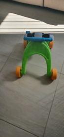 Baby push along walker