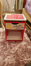 Minnie Mouse bedside table