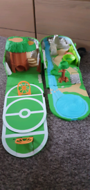 Pokemon Playset Backpack Carry Case