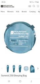 Mountain warehouse summit 250 sleeping bags