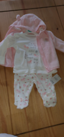 0-3 month baby clothes bundle