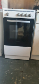 White Gas cooker 50cm montpellier