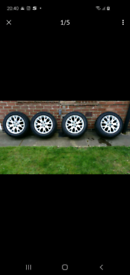 BMW e70 alloy wheels