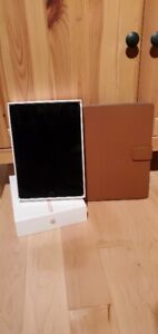 Silver iPad 6th Generation 128GB with case