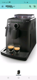Philips Saeco Intuita coffee machine. Bean to cup.