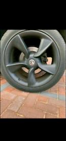 "19"" vauxhall astra GTCC alloy wheels VXR sport insignia vectra"