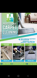 Professional Carpet cleaning ( mattress / sofas)
