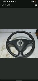 Momo mitsubishi steering wheel