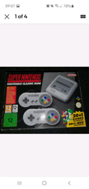 Nintendo Snes Mini. Hardly used