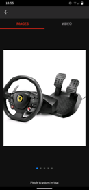Thurstmaster T80 Ferrari with stand