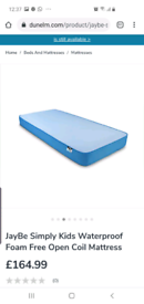 Jaybe single waterproof mattress
