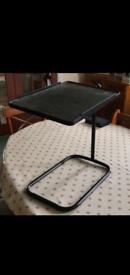 Black Floating Bedside Table