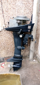 Boat engine outboard