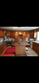 Chestnut kitchen units