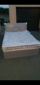 Grey small 4ft and double beds