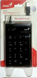 GENIUS brand Silent numeric key pad