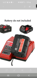 Millawkee drill battery charger