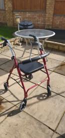 Walking aid / stroller free