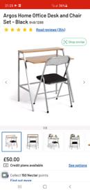 Argos Home Office Desk & Chair Set *NEW*