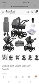 Pram and stroller