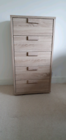 Sonoma oak chest of drawers